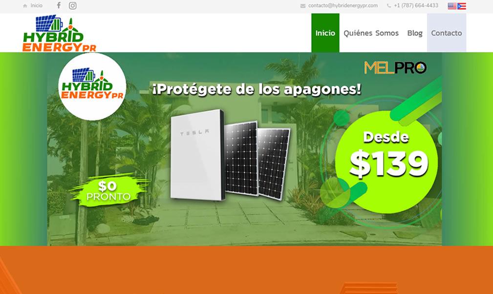 Hybrid Energy PR  [Web]